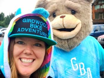 Nicole and GBA Bear