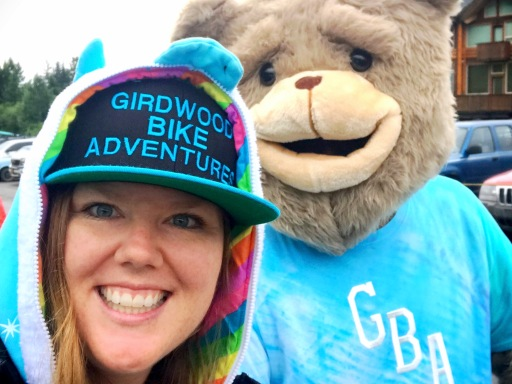 Nicole and GBA Bear