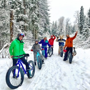 Winter Fat Biking the Historic Iditarod Trail