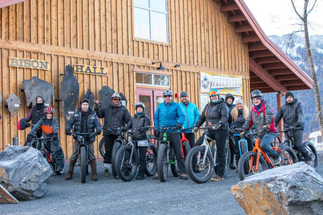 AWCC Fat Bike Event 2018 © Doug Lindstrand