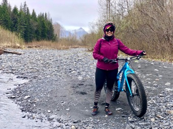 Glacier Creek Fat Bike Ride